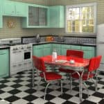 50's Diner Décor for Kitchen