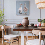 Shabby Sheek Table and Chairs Ideas to Decorate Your Dining Room