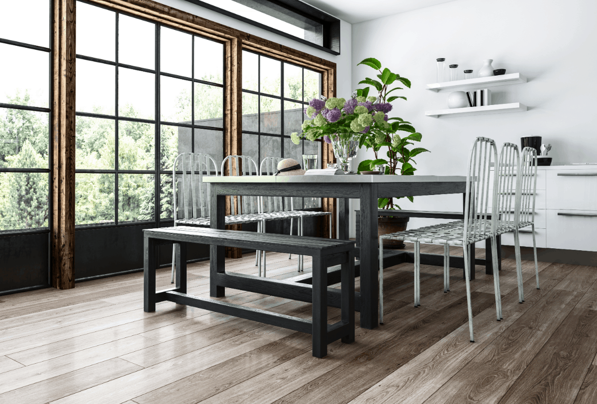 Stainless Steel Top Dining Tables